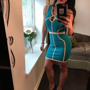 New WOW Couture body-con dress